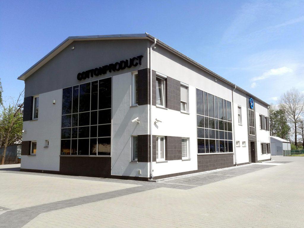 Budynek siedziby firmy Cottonproduct w Bochni