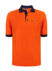 Koszulka Polo pomarańczowa