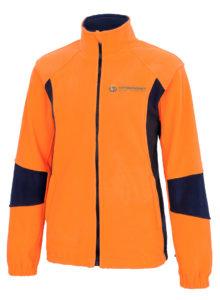 pomarańczowa bluza robocza ciepła