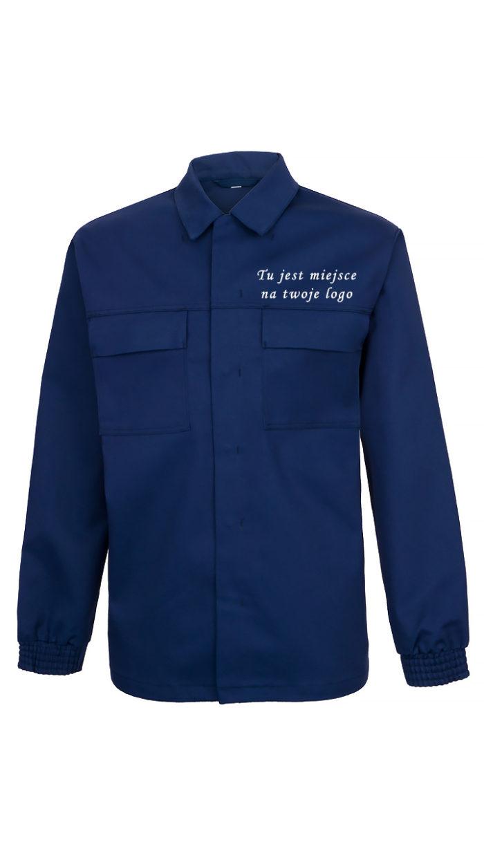 Granatowa bluza robocza