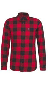 koszula flanelowa czerwona krata