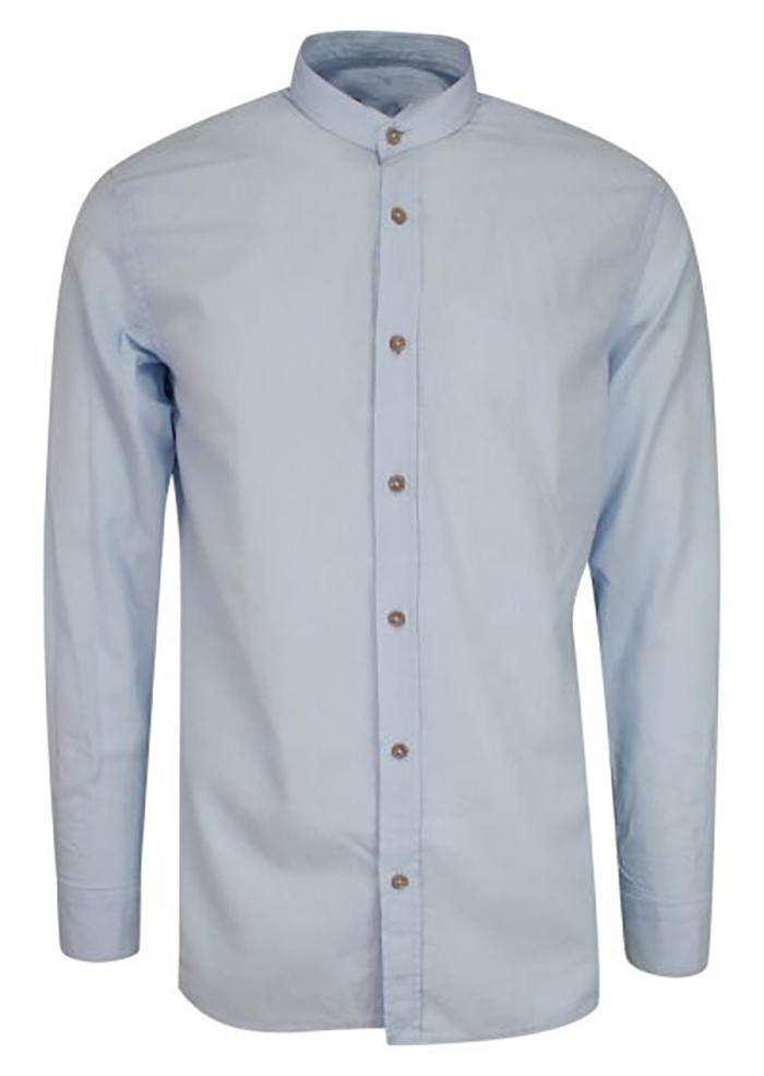 Koszula wizytowa biała z komierzykiem
